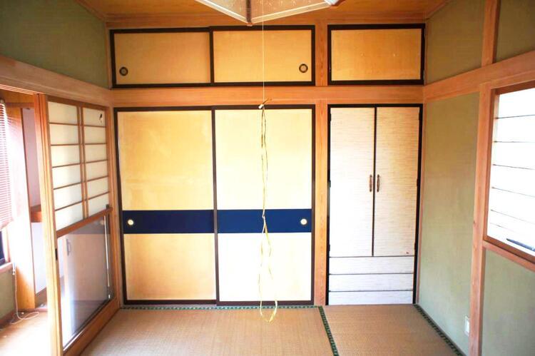 2階の約6帖の和室です。
