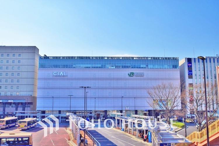 東海道本線・鶴見線・武蔵野線・南武線「鶴見」駅 距離550m