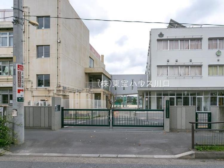 川口市立十二月田中学校 距離770m