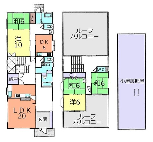 川越市寺山 中古住宅の画像