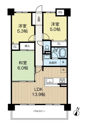 キングマンション福島5の物件画像