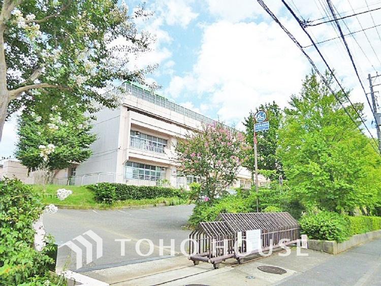 横浜市立中川西中学校 距離700m