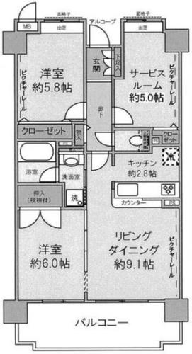 クレストフォルム横浜ポートサイドの物件画像