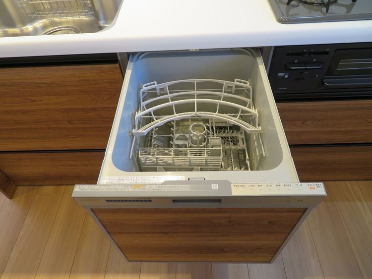 食洗器付きで家事の負担を軽減できます