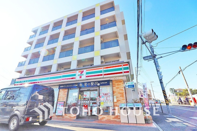 セブンイレブン 川崎野川店 距離500m