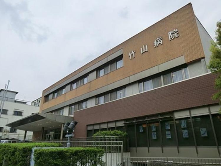 竹山病院1600m