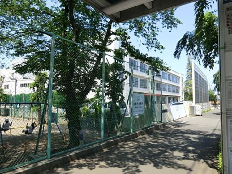 多摩第二小学校 380m