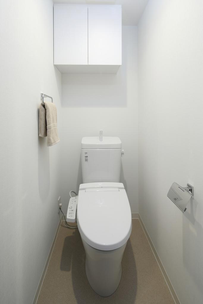 ◇セレクトコース/トイレ◇ 無駄のないスタイリッシュなトイレ(ウォシュレット機能付)