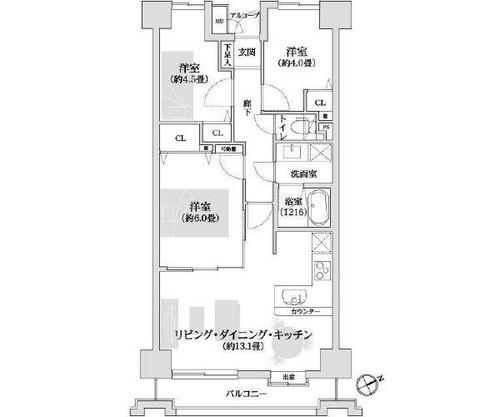 新横浜ハイツの物件画像