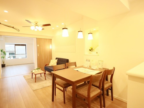 グランドメゾン碑文谷~家具照明付きリノベーションマンション~の物件画像