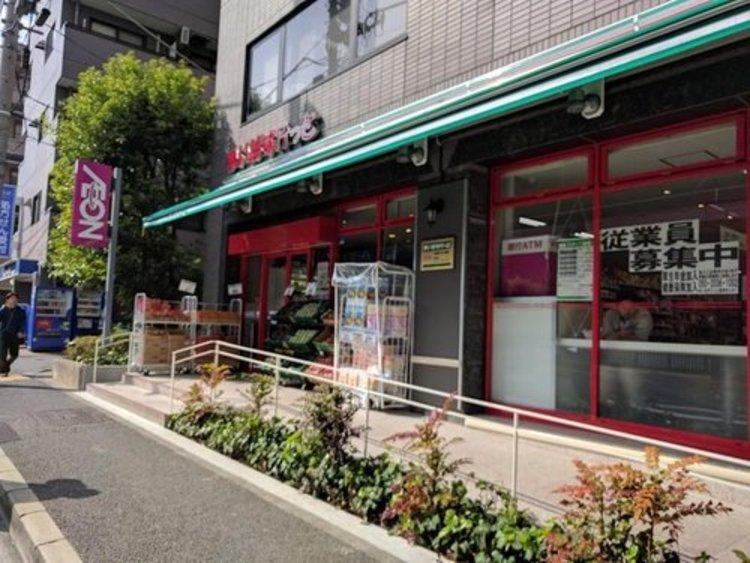 まいばすけっと南麻布古川橋店まで429m 「近い、安い、きれい、そしてフレンドリィ」 都市型小型食品スーパーマーケット