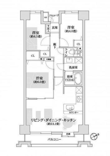 新横浜ハイツの画像