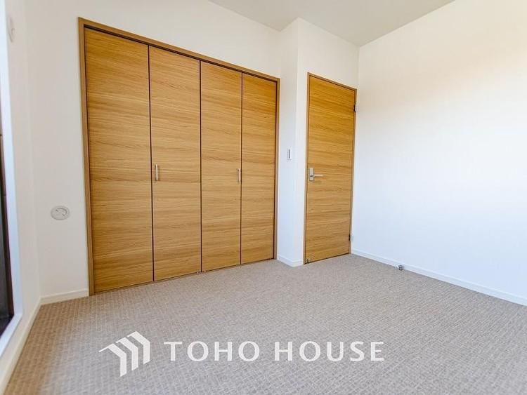 全ての居室にクローゼット収納を設置し、お子様が成長してもゆったりとした住空間を実現する間取。