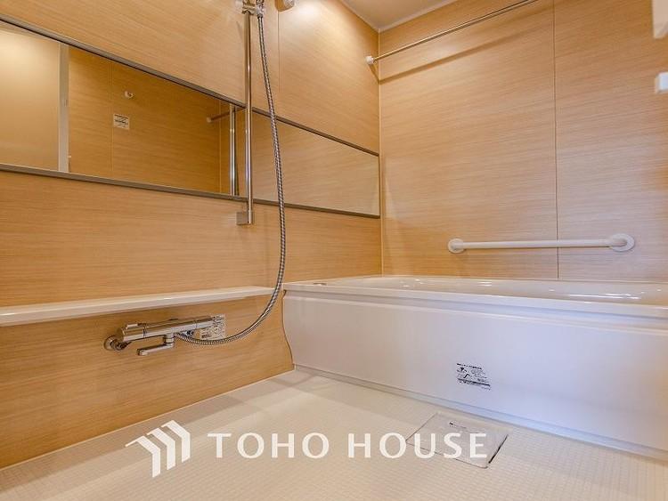 上質が感じられる設備とカラーリングで、清潔な空間美を実現。