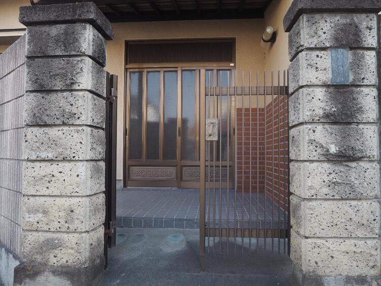 門扉です。