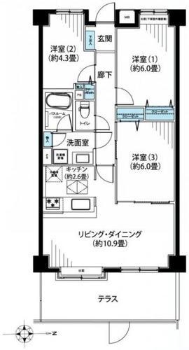 新川崎ガーデンハウスの物件画像