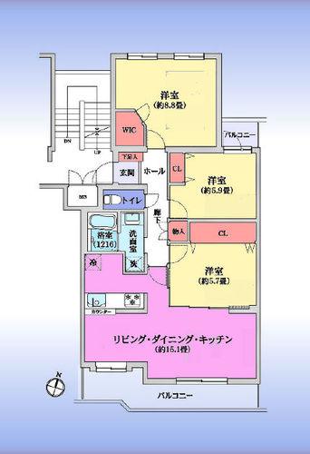 東急ドエルアルス武蔵浦和の物件画像