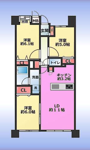 イトーピア川口元郷の物件画像