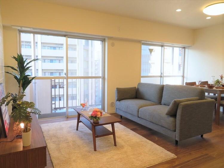 家具の配置のし易い室内です。充分な広さを確保しております