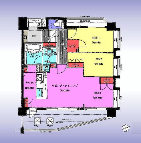レクセルマンション鳩ヶ谷の画像