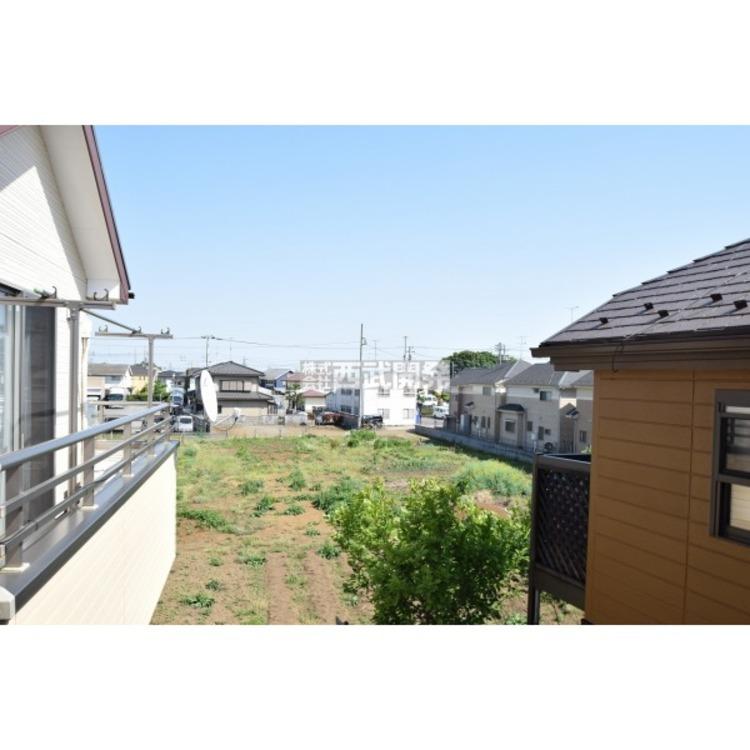 開放的な環境が広がっています。自然いっぱいの武蔵村山市でマイホームを検討してみませんか?