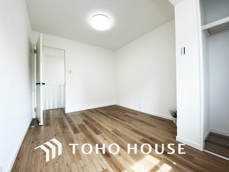 約6.1帖ほどの居室は、使い勝手が良く好みのデザインにできます