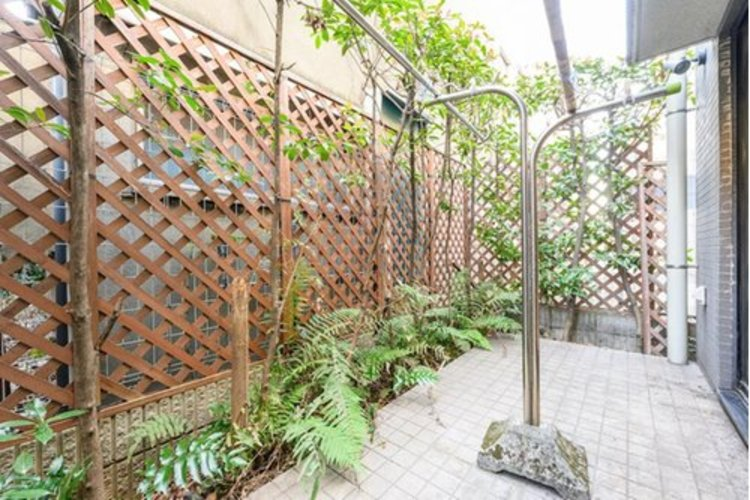 専用庭はプライベートな外部空間です。