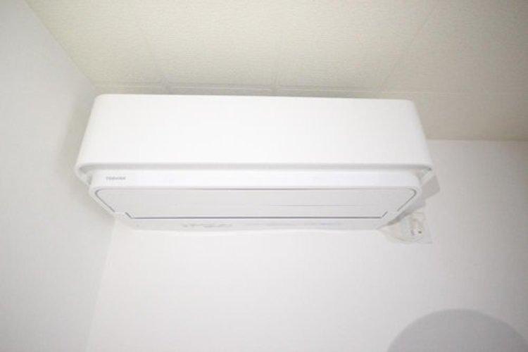 エアコンも設置済みの為、ご入居後すぐに利用可能です。