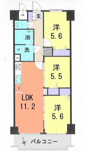 ライオンズマンション竹の塚第3の物件画像