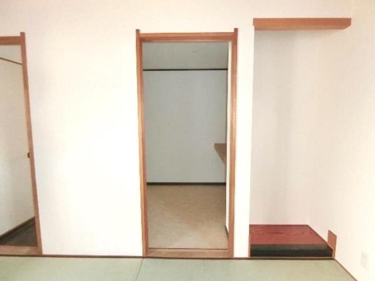収納力のあるウォークインクローゼット付ですので、お部屋の生活スペースが有効活用できます。