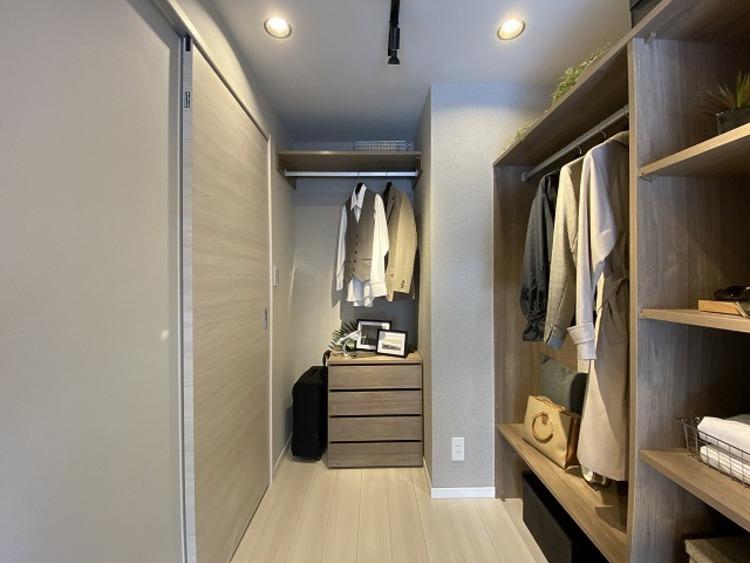 高機能収納を備えたお部屋。すっきりとした暮らしが実現します。