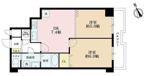 自由ヶ丘第5マンションの物件画像