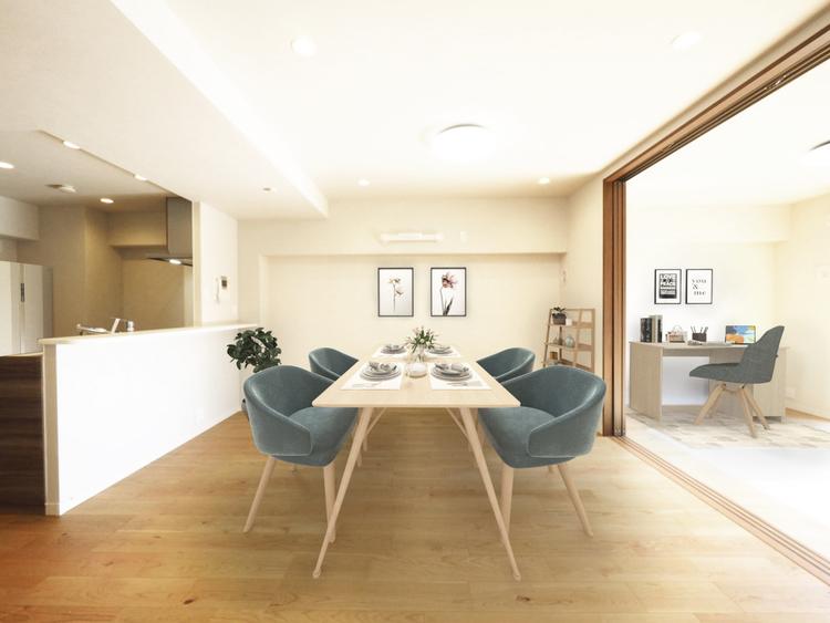 贅沢といえるほどの豊かな居住性と、プライドを満たすクオリティが見事に調和した住空間。気密性に富んだ上質な時を刻みます。 ※画像はCGによる家具を配置した際のイメージです。