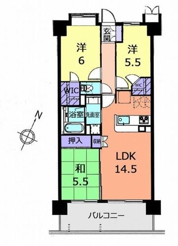 サンクレイドル松戸弐番館の物件画像