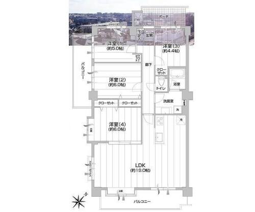 コスモ青葉台イーストヒルズの画像
