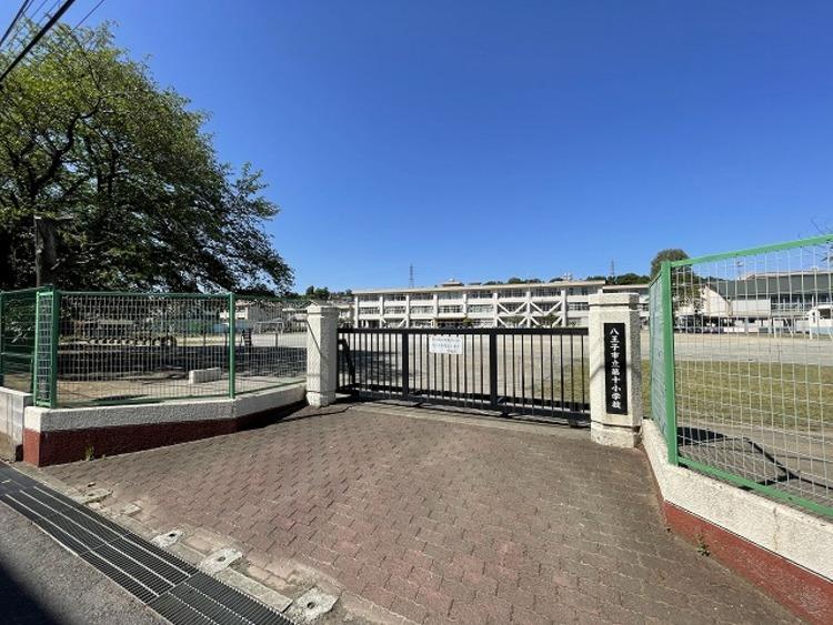 八王子市立第十小学校 距離約1600m
