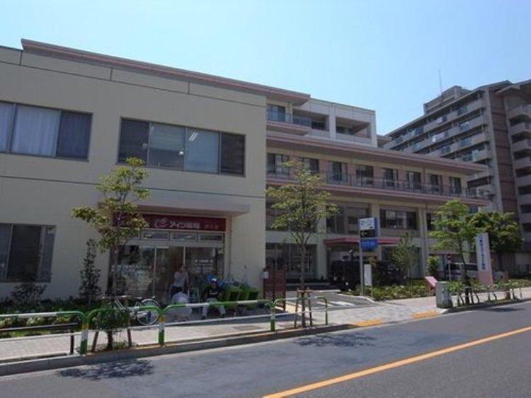 東京リバーサイド病院まで746m。患者さんに信頼される病院を創ります。