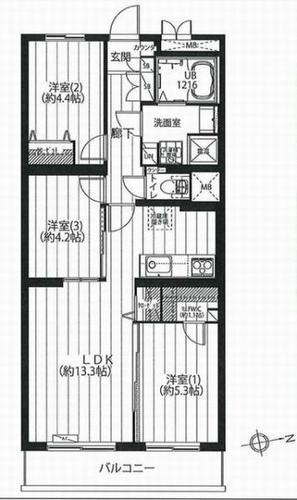 武蔵小杉IIサマリヤマンションの物件画像