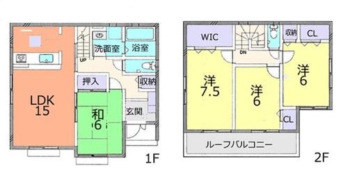 野田市桜の里2丁目 中古戸建の物件画像