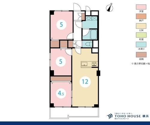 コーシン菊名第2マンション4階の画像