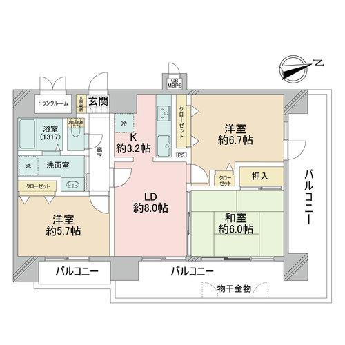 ライオンズマンション天王寺シティの物件画像