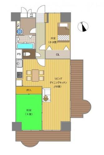 八王子セントラルマンションの物件画像