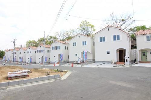 「鶴川」駅 町田市三輪緑山3丁目 全27区画の大型開発分譲地の画像