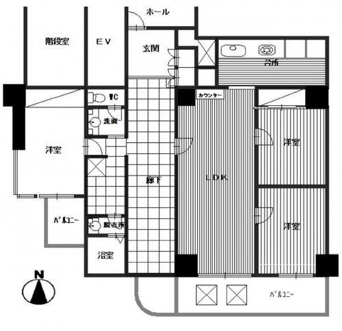 フジタ八王子マンションの画像