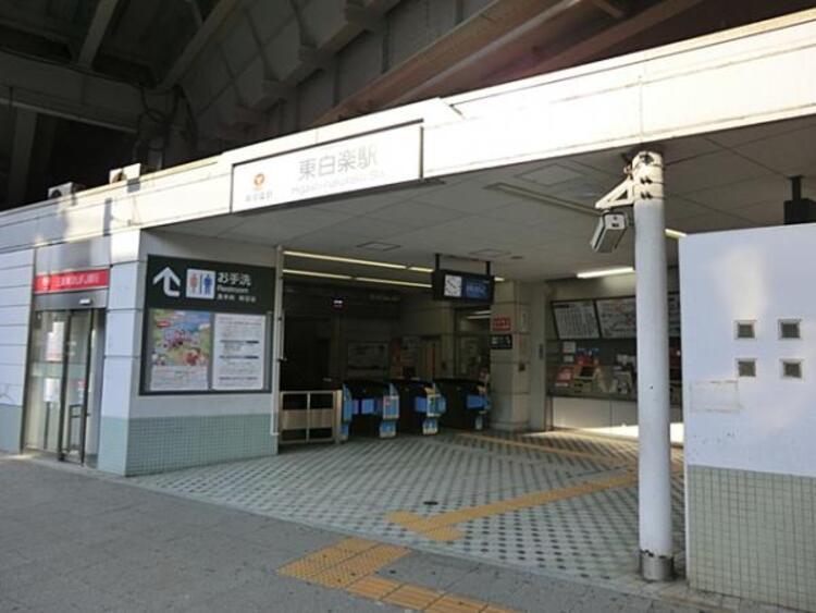 東横線東白楽駅720m
