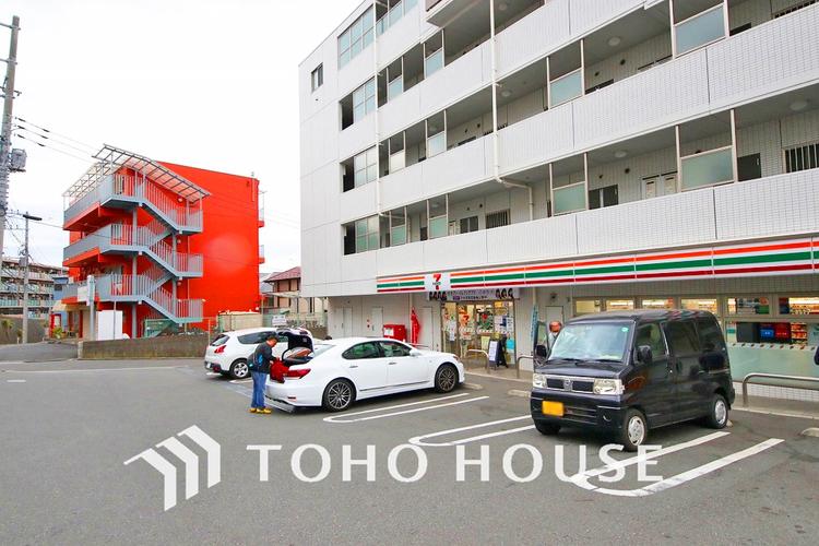 セブンイレブン 横浜西大口店 距離850m
