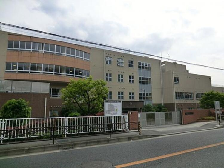 川崎市立柿生小学校1100m