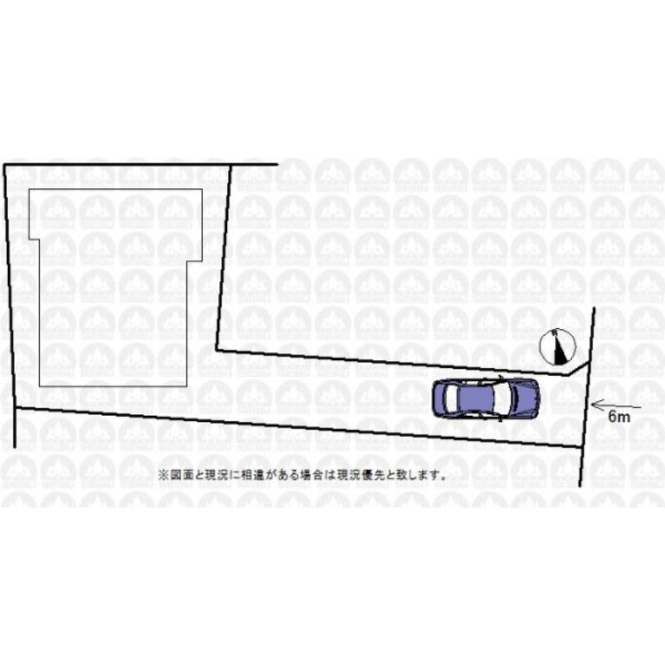 お車は車種により、2台分のスペースがございます。