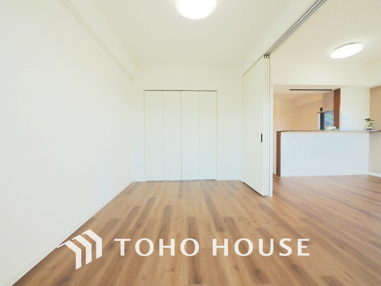 約6帖ほどの居室は、使い勝手が良く好みのデザインにできます