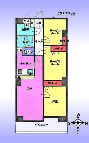 レーベンハイム常盤台プラザの画像